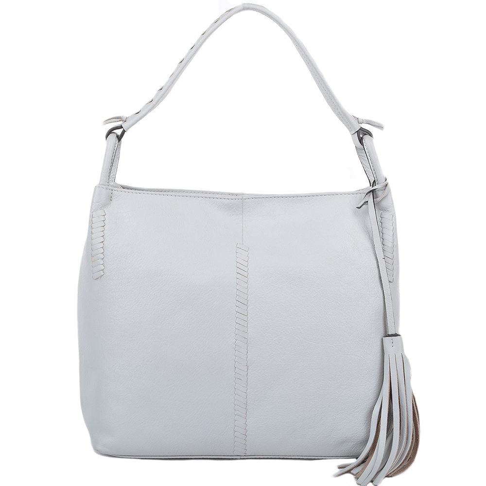 Womens Leather Hobo Shoulder Bag Ice : 61634 – Leather ...