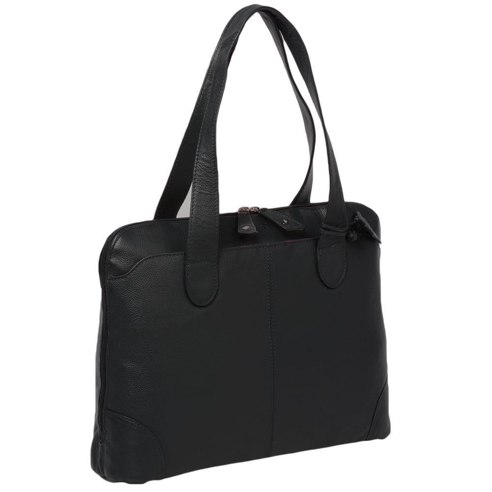 Womens-Leather-Handbag-Black-Ela-1086-2