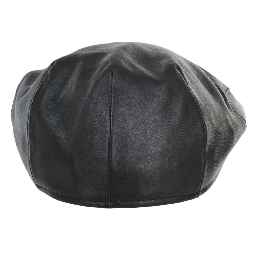 Leather-Flat-Cap-Black-Gatsby-6